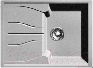 Мойка кухонная GranFest Standart GF-S680L (серый)
