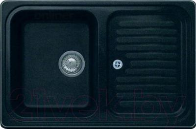 Мойка кухонная GranFest GF-S780L (черный)
