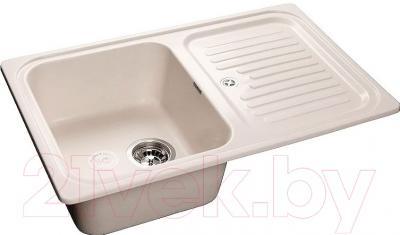 Мойка кухонная GranFest GF-S780L (белый)