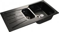 Мойка кухонная GranFest Standart GF-S940KL (черный) -