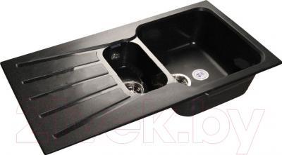 Мойка кухонная GranFest GF-S940KL (черный)