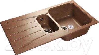 Мойка кухонная GranFest GF-S940KL (терракот)