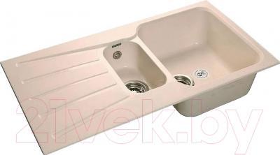 Мойка кухонная GranFest GF-S940KL (белый)