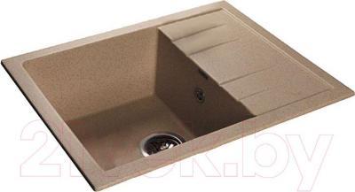 Мойка кухонная GranFest GF-Q650L (песок)