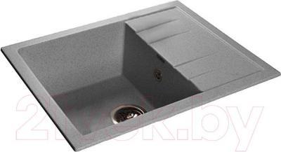 Мойка кухонная GranFest GF-Q650L (серый)