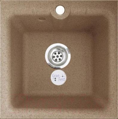 Мойка кухонная GranFest GF-P420 (песок)