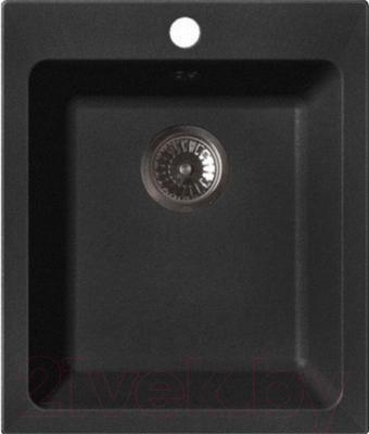 Мойка кухонная GranFest Practic GF-P505 (черный)