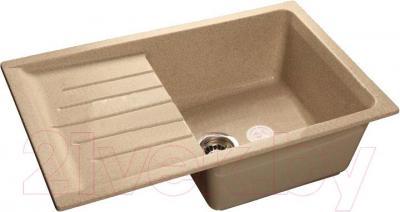 Мойка кухонная GranFest GF-P760L (песок)
