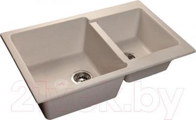 Мойка кухонная GranFest GF-P780K (белый)