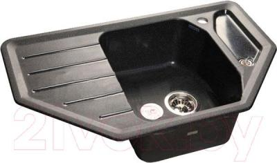 Мойка кухонная GranFest GF-C800E (черный)