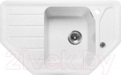 Мойка кухонная GranFest Corner GF-C800E (белый)