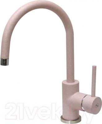Смеситель GranFest 3023 (розовый)