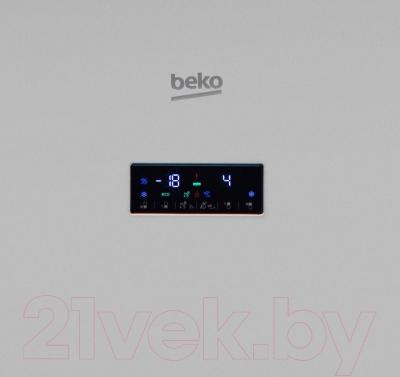 Холодильник с морозильником Beko CNKR5355EC0S