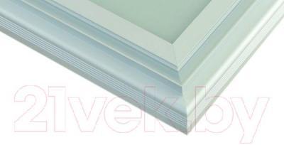 Зеркало интерьерное Dubiel Vitrum Fondo PS 100x60 (5905241002842) - алюминиевый корпус