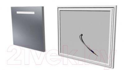 Зеркало интерьерное Dubiel Vitrum Fondo PS 100x60 (5905241002842) - использование зеркала в ванных комнатах