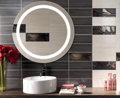 Зеркало интерьерное Dubiel Vitrum Triton 67x67 (5905241002897) - в интерьере