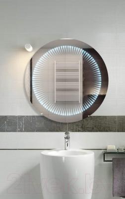 Зеркало интерьерное Dubiel Vitrum Wenecja Kolo 62x62 (5905241002903) - в интерьере