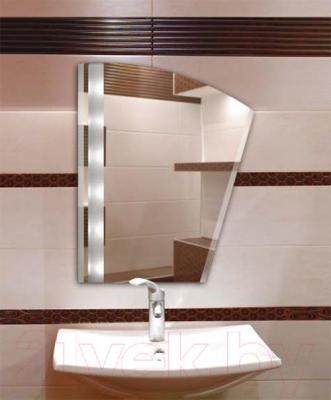 Зеркало интерьерное Dubiel Vitrum Inga II 49x60 (5905241000565) - люминесцентная подсветка