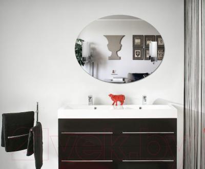 Зеркало интерьерное Dubiel Vitrum Caso 80x60 (5905241015774) - два встроенных светильника