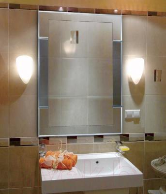 Зеркало интерьерное Dubiel Vitrum Velvet IV 50x80 (5905241900728) - оборачиваемое