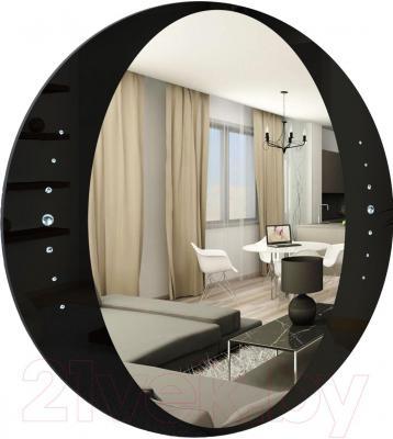 Зеркало интерьерное Dubiel Vitrum Idea C 60x60 (5905241000954) - по краям приклеены стразы Swarovski