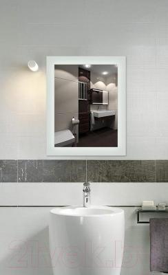 Зеркало интерьерное Dubiel Vitrum Victor 60x77 (5905241905013) - матовые полосы по периметру