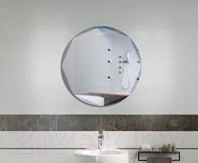 Зеркало интерьерное Dubiel Vitrum Kolo 58x58 (5905241030609) - в интерьере