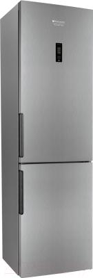 Холодильник с морозильником Hotpoint HF 6201 X R