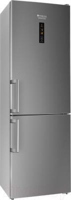 Холодильник с морозильником Hotpoint HF 8181 S O
