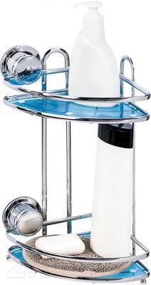 Полка для ванной Tatkraft Vacuum Screw Conrad 10680 - крепление на вакуумных присосках