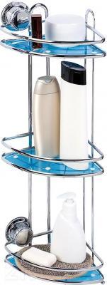 Полка для ванной Tatkraft Vacuum Screw Conrad 10697 - крепление на вакуумных присосках