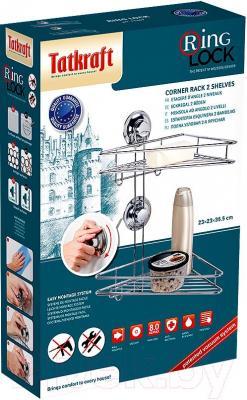 Полка для ванной Tatkraft Ring Lock 17207 - упаковка
