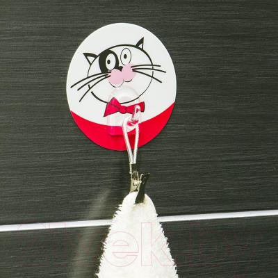 Крючок для ванны Tatkraft Funny Cats 18204 - в интерьере