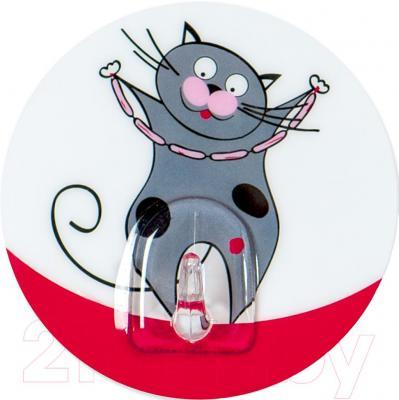 Крючок для ванны Tatkraft Funny Cats Tom 18228