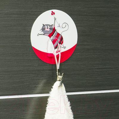 Крючок для ванны Tatkraft Funny Cats Chucho 18235 - в интерьере