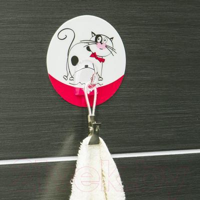 Крючок для ванны Tatkraft Funny Cats Treufeldt 18242 - в интерьере