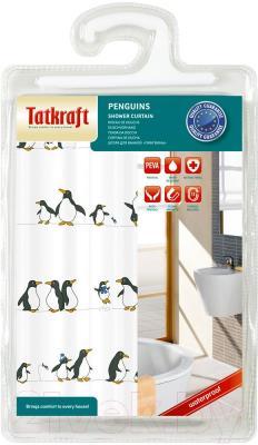 Шторка-занавеска для ванны Tatkraft Penguins 18198 - упаковка