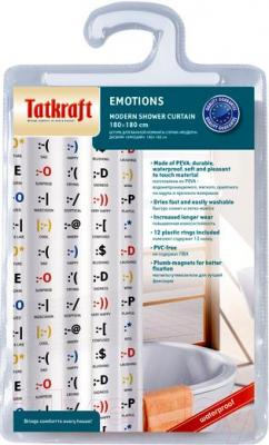 Текстильная шторка для ванной Tatkraft Emotions14787 - упаковка