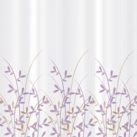 Текстильная шторка для ванной Tatkraft Immanuel Olive 14602 -