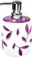 Дозатор жидкого мыла Tatkraft Immanuel Olive Violet 12073 -