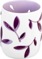 Стакан для зубных щеток Tatkraft Immanuel Olive Violet 12080 -