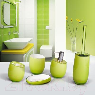 Ершик для унитаза Tatkraft Repose Green 12332 - коллекция Repose Green