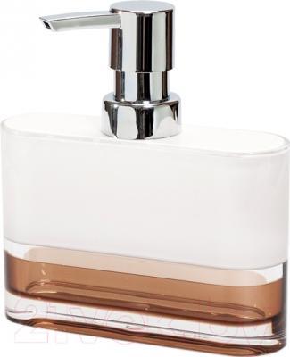 Дозатор жидкого мыла Tatkraft Smoky Topaz 12646