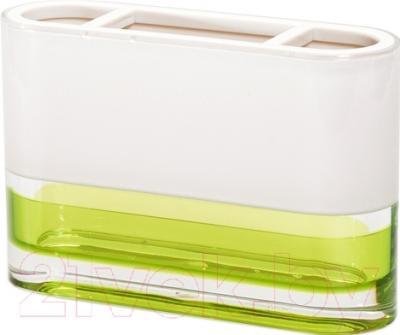 Стакан для зубных щеток Tatkraft Topaz Green 12691