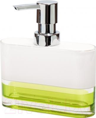 Дозатор жидкого мыла Tatkraft Topaz Green 12707