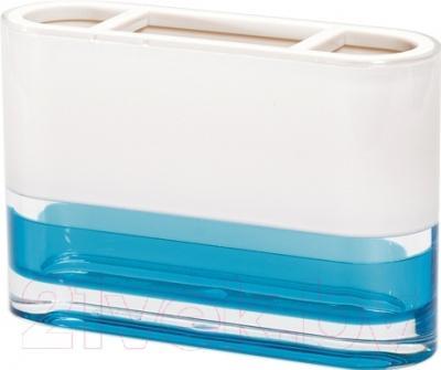 Стакан для зубных щеток Tatkraft Topaz Blue 12745