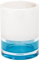Стакан для зубных щеток Tatkraft Topaz Blue 12738 -