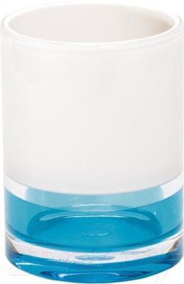 Стакан для зубных щеток Tatkraft Topaz Blue 12738