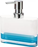 Дозатор жидкого мыла Tatkraft Topaz Blue 12752 -