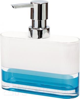 Дозатор жидкого мыла Tatkraft Topaz Blue 12752